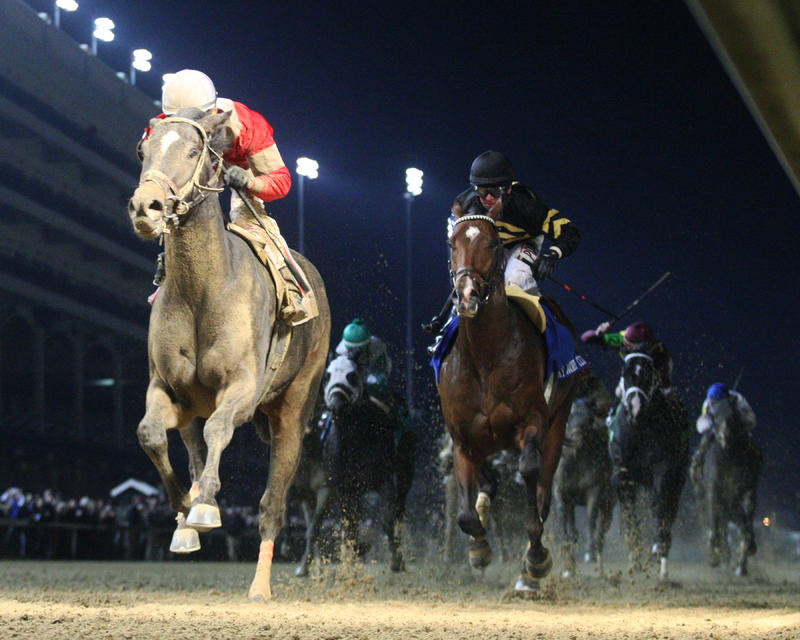 20161126 MCCRAKEN - The Kentucky Jockey Club Gr II (Coady) Under Rail