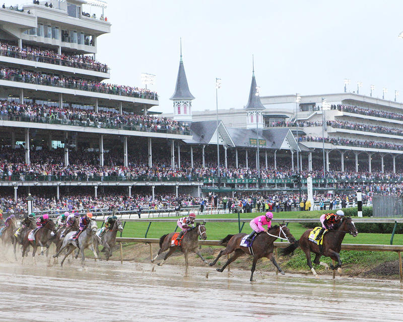 ABEL-TASMAN---The-Longines-Kentucky-Oaks-Gr-I---143rd-Running---05-05-17---R11---CD---First-Turn