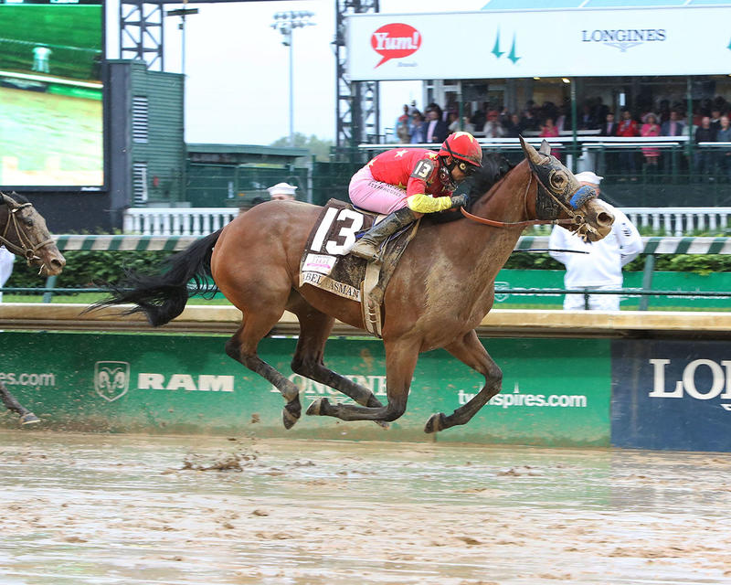 ABEL-TASMAN---The-Longines-Kentucky-Oaks-Gr-I---143rd-Running---05-05-17---R11---CD---Finish-1