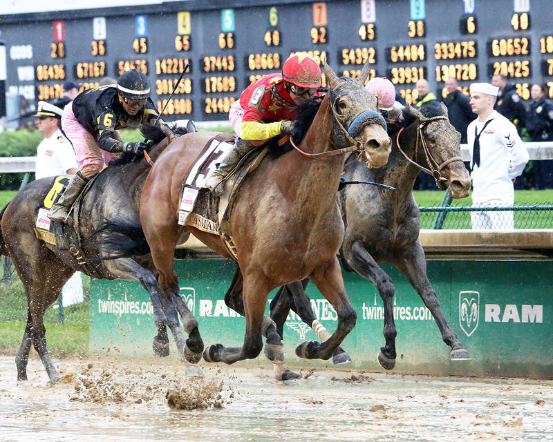 ABEL-TASMAN---The-Longines-Kentucky-Oaks-Gr-I---143rd-Running---05-05-17---R11---CD---Finish-2