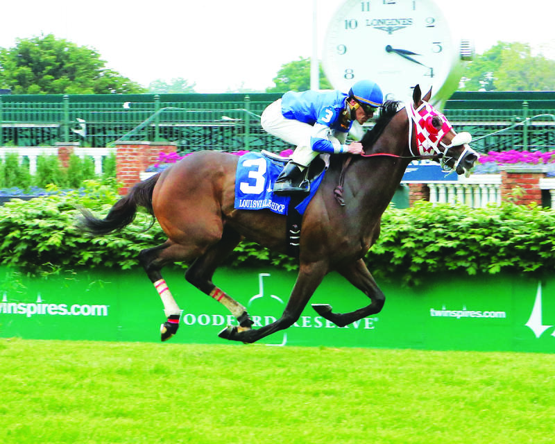 20160522 BULLARDS ALLEY - The Louisville Handicap Gr III (Coady) Fin2