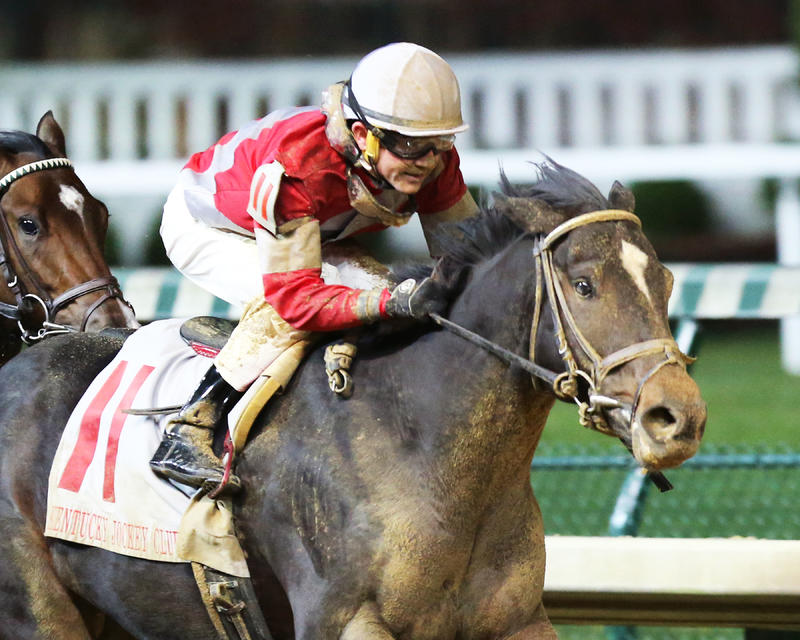 20161126 MCCRAKEN - The Kentucky Jockey Club Gr II - 90th Running (Coady) Fin Tight