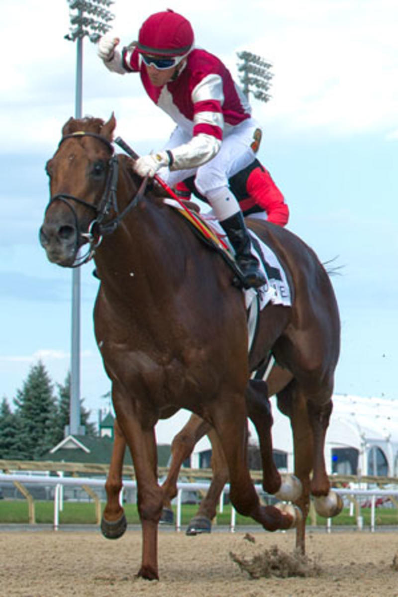 Breaking-Lucky 2016 Seagram Cup Woodbine (Michael Burns)