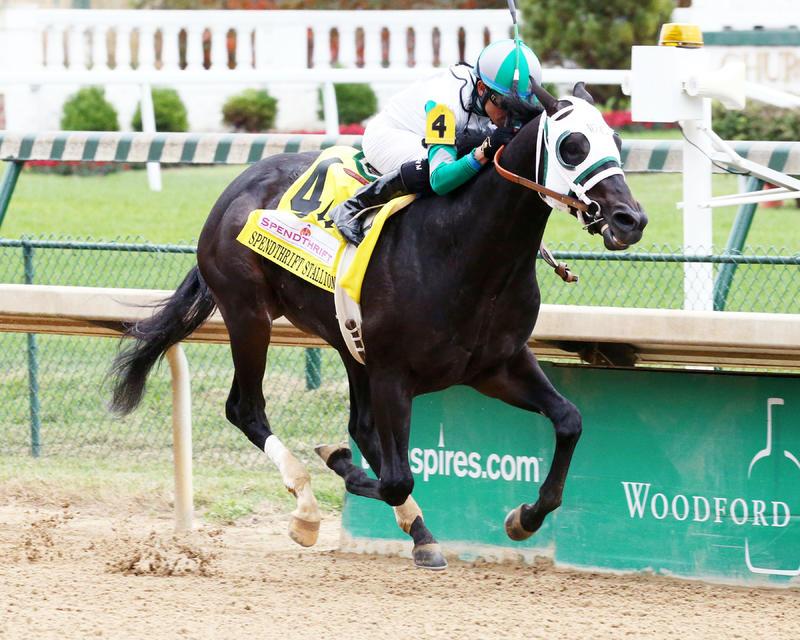 20161030 WARRIOR'S CLUB Spendthrift Stallion Stakes (Coady) Finish 2