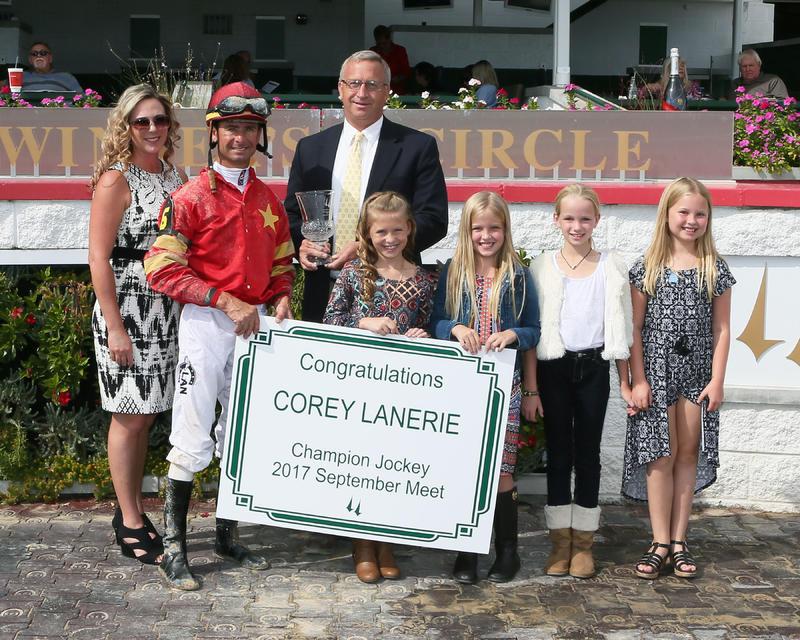 20171001 Corey Lanerie - Leading Jockey (Coady)