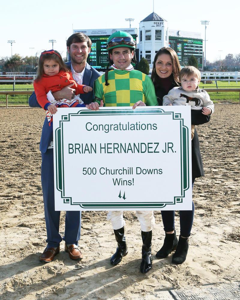 20171123 Brian Hernandez 500 wins at CD (Coady)jpg