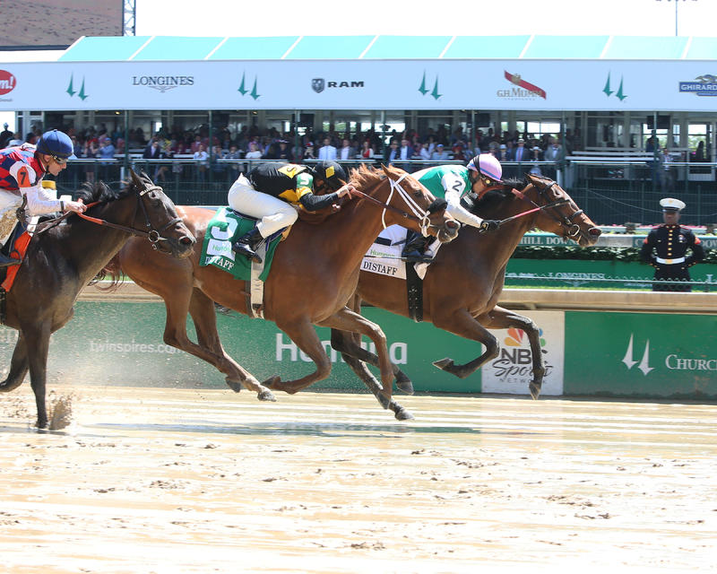 20170506 PAULASSILVERLINING - The Humana Distaff (Coady) Finish 1