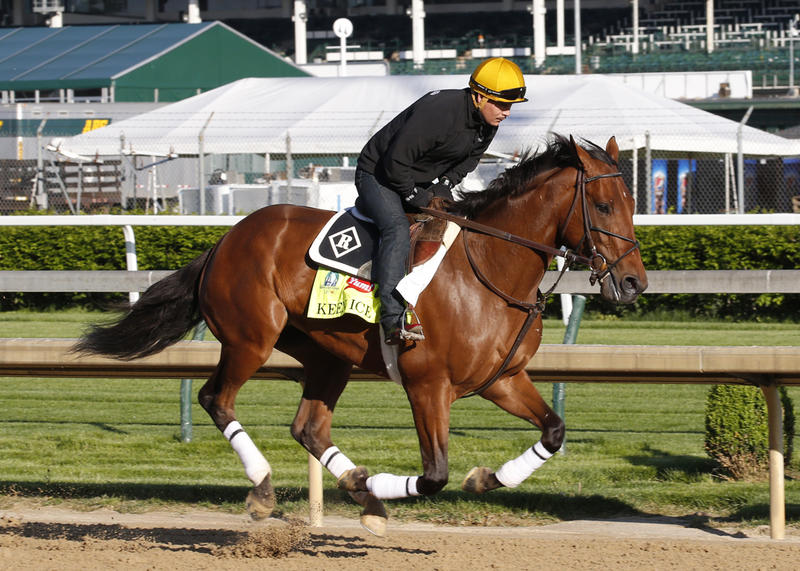 Keen Ice (Reed Palmer, Churchill Downs)