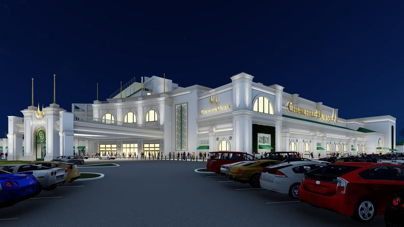 RENDERING Hotel Entrance (Churchill Downs)