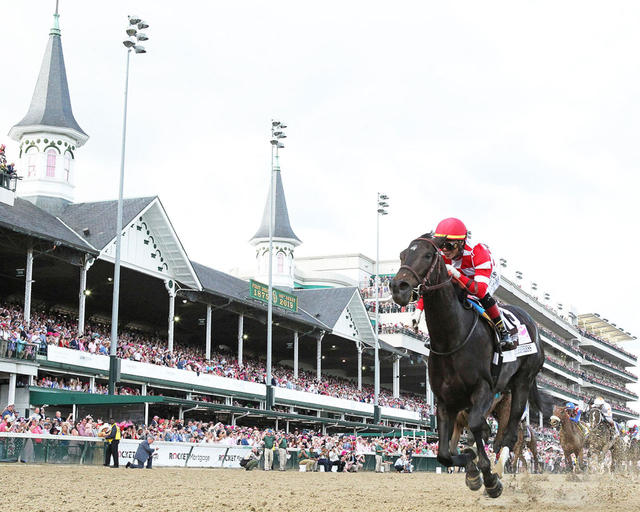 Serengeti Empress Wins 145th Longines Kentucky Oaks Before Crowd of 105,719