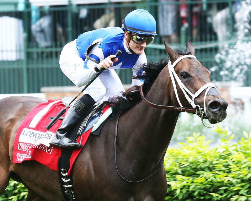 20160507 TEPIN - CD Distaff Turf Mile (Coady)Tight Fin