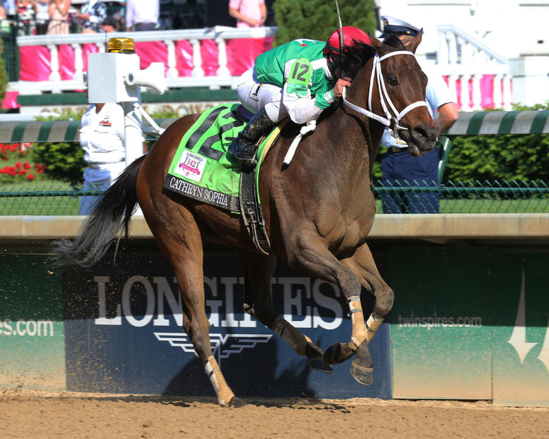 20160506 CATHRYN SOPHIA - Longines Kentucky Oaks (Coady)- Fin 2