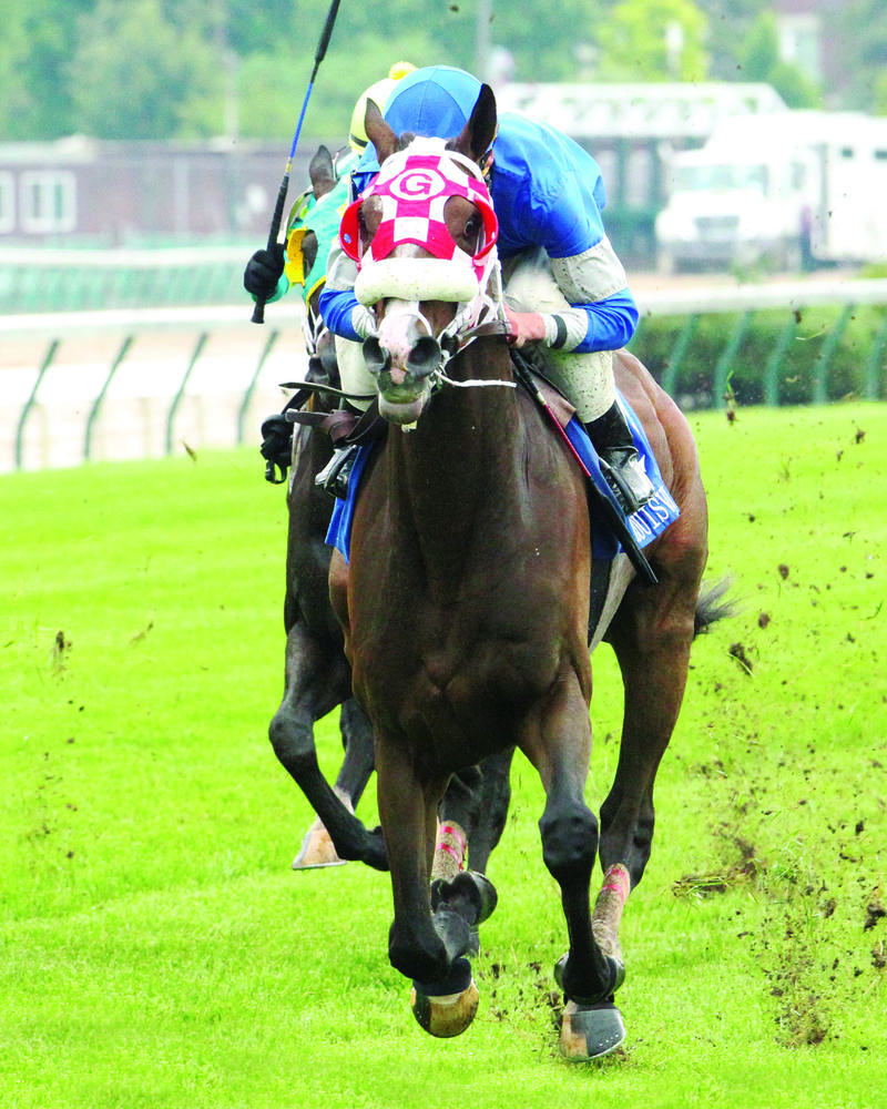 20160522 BULLARDS ALLEY - The Louisville Handicap GIII (Coady) Inside Fin