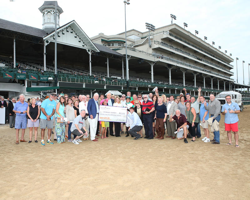 20161030 WARRIOR'S CLUB Spendthrift Stallion Stakes (Coady) Pres - Owners