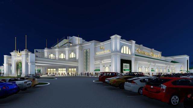 New hotel at Churchill Downs