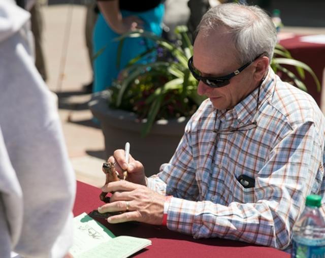Steve Cauthen Signing