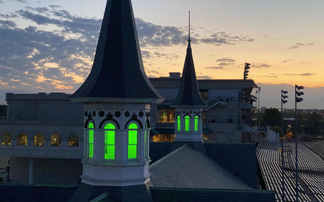 Twin Spires image green